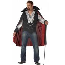 Very Cool Dracula Vampire Adult Costume Size XL 44-46