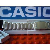 Casio Watch Band AMW-702 D, AMW-703 Bracelet Fishing Gear All Steel Silver Tone