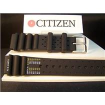 Citizen Watch Band Aqualand 20mm Divers Strap Printed Register/Feet Steel buckle