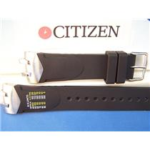 Citizen Watch Band Aqualand ECO-Drive BJ2050 -11E Black Resin Steel Lugs