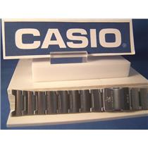 Casio watch band WVA-104 D Wave Ceptor Bracelet w/ Push Button Deployment