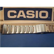 Casio Watch Band AQ-160 WD-1 Steel Bracelet W/ Push Button Deployment buckle