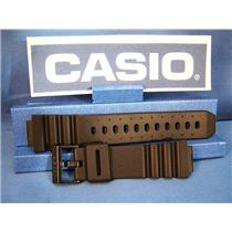 Casio Watch Band ARW-320, AQ-130. Black Resin Strap For Alti-Depth Digital Analog