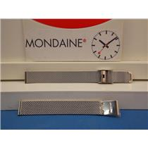 Mondaine Swiss Railways Watch Band FM8912  Bracelet 12mm Wide Steel  Mesh Ladies