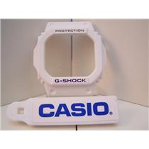Casio Watch Parts Bezel / Shell G-5600 A-7,GW-M5600 A-7 white G-Shock Purple Let