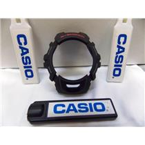 Casio Watch Parts G-2900 Outer Bezel / Shell Black W/ Red G-Shock letters