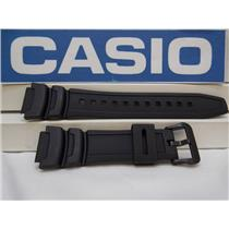 Casio Watch Band AE-1000, AE-1100 black Resin Strap Also Fits SGW-400, SGW-300