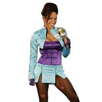 80's Rock Star Sexy Tina Turner Adult Costume Large (10-14)