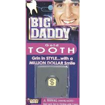 Big Daddy Gold Tooth Cover with Dollar Sign Pimp