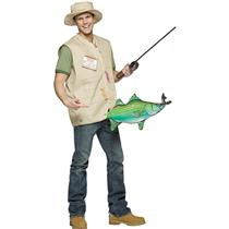 Catch of the Day Gone Fishing Master Baiter Adult Costume