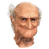 Male Oldie Adult Full Vinyl Old Man Mask