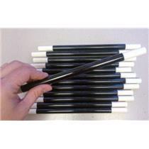 (2) Magic Wands 10 inch Black White Tips Magician Trick