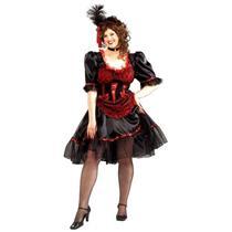 Saloon Girl Plus Size Adult Costume