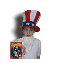 Uncle Sam Instant Disguise Costume Kit