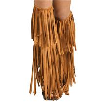 60's Hippie Fringe Boot Covers