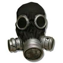 Black Bio Zombie Adult Costume Gas Mask