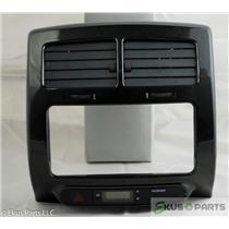 2008 Scion xD Radio Dash Trim Bezel Includes Vents and Clock