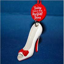 2012 Hallmark Direct Imports Ornament Today Calls for Big Girl Shoes - #DIR837