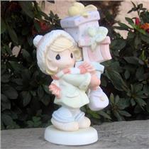 Precious Moments Figurine 2006 Sharing the Joys of Christmas - #619005