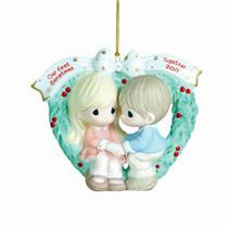 Precious Moments Ornament 2011 Our First Christmas Together - #111004