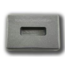 1/2 oz Gold High Density Graphite Ingot Mold 1/4 oz Silver KitKat Bar-Copper