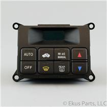 2001 Acura MDX Climate Control Unit / Panel with Three Lights in Back