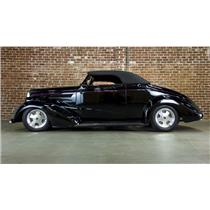 1937 Chevy 2 Door Coupe Street Hot Rod Convertible VIDEO! #17683