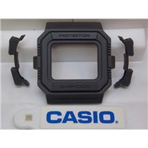 Casio Watch Parts G-5500 Bezel Three Piece Dark Gray also fits GW-5500