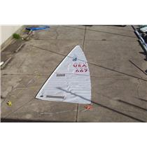 "Boaters' Resale Shop of TX 1308 1222.96 MAINSAIL W 25-10 LUFF ""QUAUNTUM"""