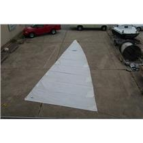 "Boaters' Resale Shop of TX 1312 0421.91 MAINSAIL W 38-6 LUFF ""HOOD"" SAILMAKERS"