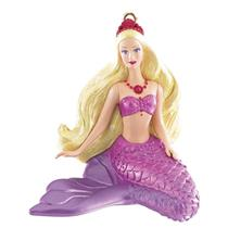 Carlton Ornament 2014 Lumina Barbie - Mermaid - #AXOR015F