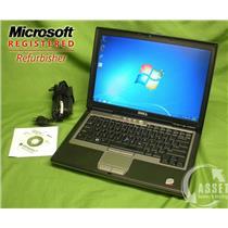 "Dell Latitude D630 Windows 7 32-bit, 2.4 GHz 2 GB 120 GB DVD-RW 14"" Office [51]"
