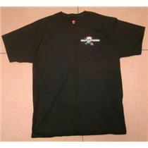 """Route 66 Gold Miners"" Mining Prospecting GPAA Club - Black T-Shirt 1XL  XL"
