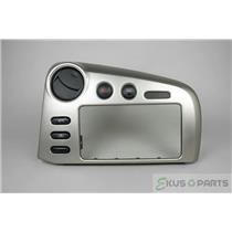 2003-2008 Pontiac Vibe Radio Climate Dash Trim Bezel w/ Vents & Hazard Switch