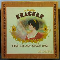 KRACKER la familia LP VG+ DSX-50134 Vinyl 1972 Dunhill Stereo USA Original Box