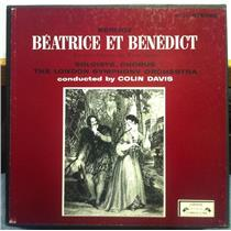 COLIN DAVIS berlioz beatrice et benedict 2 LP Mint- SOL 256/7 Stereo UK w/Book