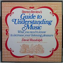DAVID RANDOLPH STEREO REVIEW guide to understanding music 4 LP Mint- Audiophile