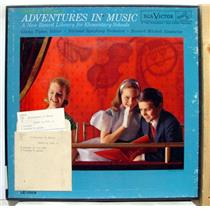 HOWARD MITCHELL adventures in music grade 6 volume 1 LP VG LE-1009 Vinyl 1962