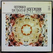 CLUYTENS offenbach tales of hoffmann 3 LP Mint- SCLX-3667 w/Book Stereo 2nd Lbl