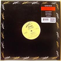 "USHER i don't know 12"" Mint- 73008 24545-1 Vinyl 2001 LaFace Hip Hop USA"