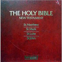 HOLY BIBLE OLD TESTAMENT st. matthew st. mark st. luke st. john 8 LP Mint- HB