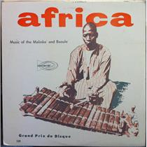 AFRICA music of malinke & baoule LP Mint- CPT 529 Vinyl  Record