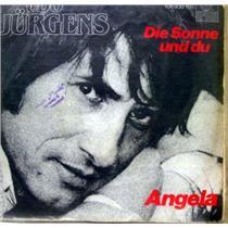 """UDO JURGENS angela / die sonne und du 7""""  Mint- ARIOLA 105 900 Vinyl 1983 Record"""