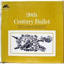 VARIOUS 20th century ballet 3 LP VG+ RH 306 Vinyl  Record