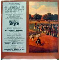 AMERICAN BRASS QUINTET music of the mid 1800's LP Sealed TI 81 Vinyl 1980 Record