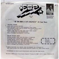 "ELMER SHEFFIELD if bubba can dance (i can too) 7""  VG+ ESP 193 Vinyl  Record"