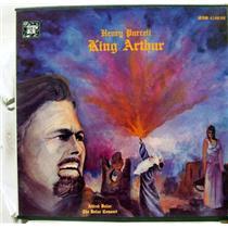 ALFRED DELLER CONSORT purcell king arthur 2 LP Mint- MHS 4188/89 Vinyl 1980
