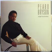PEABO BRYSON straight from the heart LP Mint- Promo 60362-1 Elektra 1984 WLP