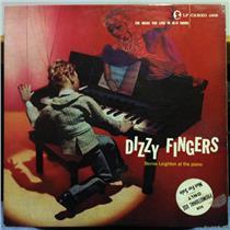 BERNIE LEIGHTON dizzy fingers LP VG Promo CAMEO 1005 Mono 1956 Cameo WLP