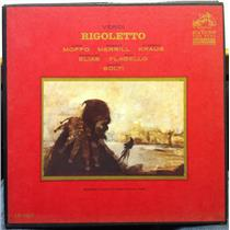 SOLTI MOFFO MERRILL verdi rigoletto 2 LP VG+ LM 7027 Vinyl 1964 Shaded Dog Mono